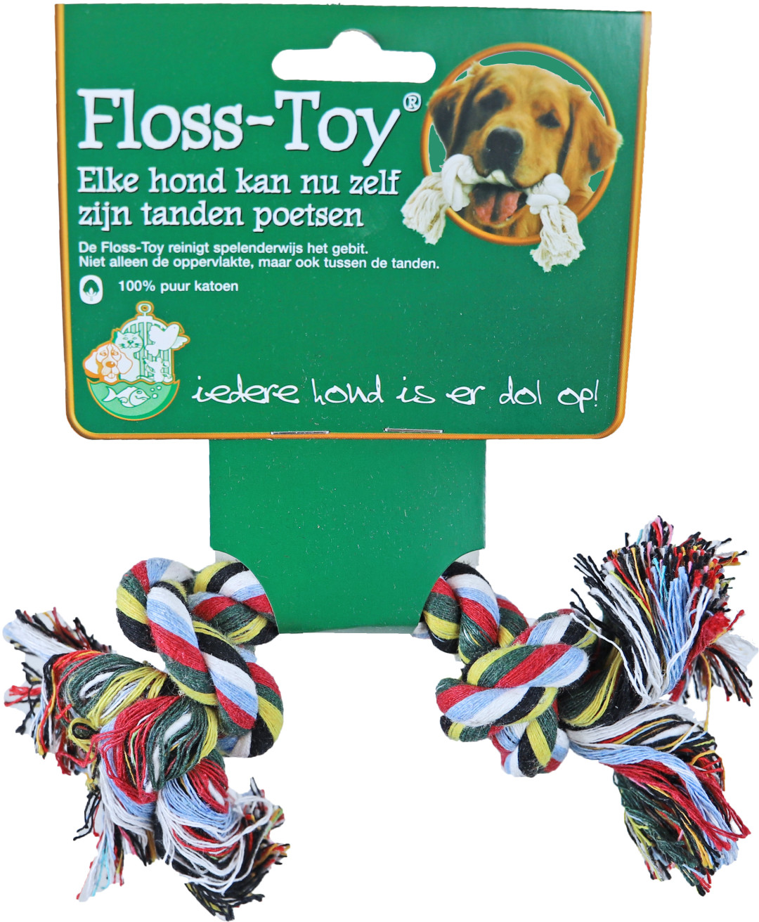 Floss-Toy Mini gekleurd