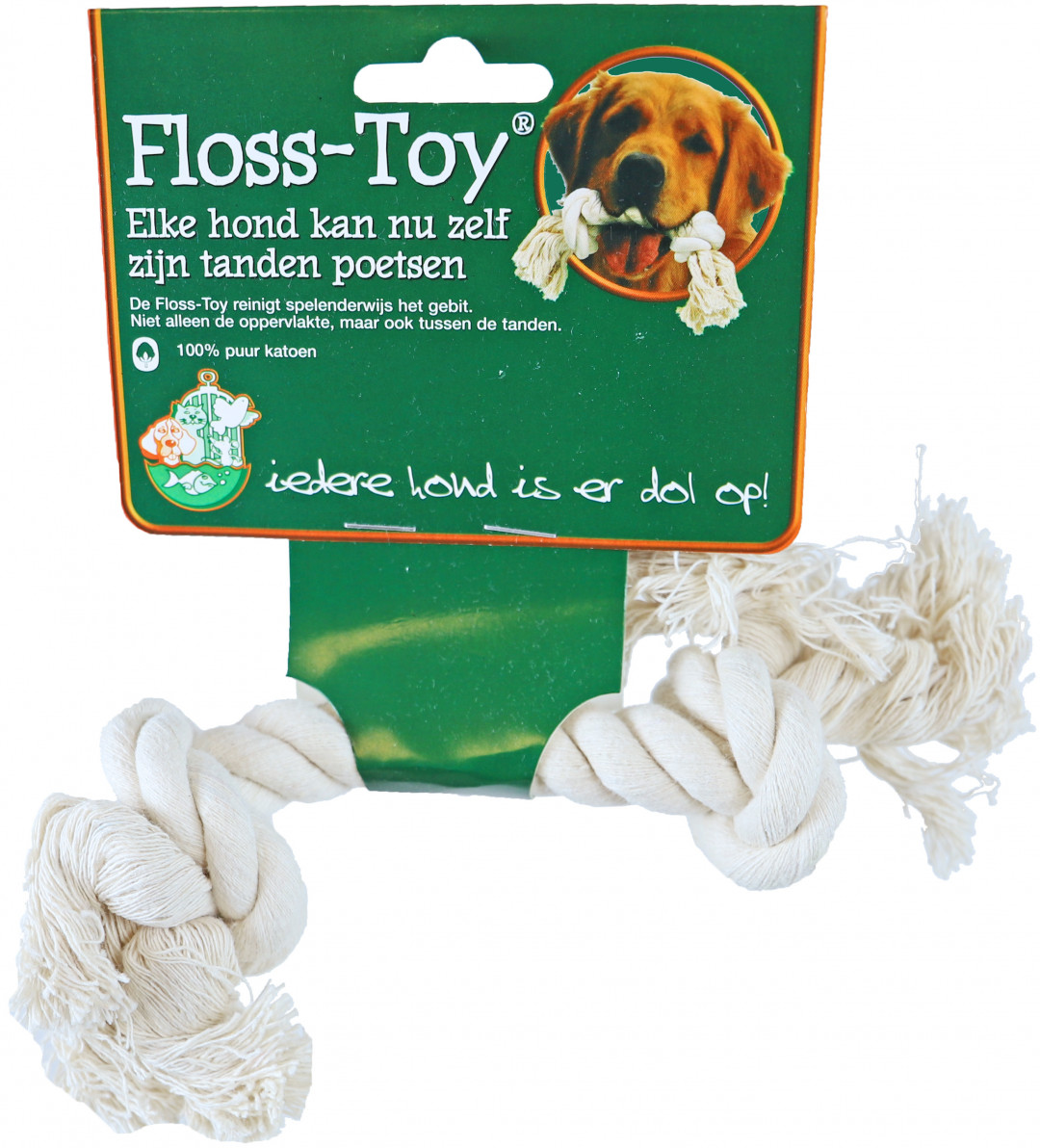 Floss-Toy Mini wit
