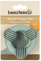 Beeztees Puppy dental ring groen thumb