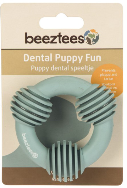 Beeztees Puppy dental ring groen
