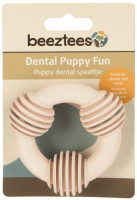 Beeztees Puppy dental ring roze thumb