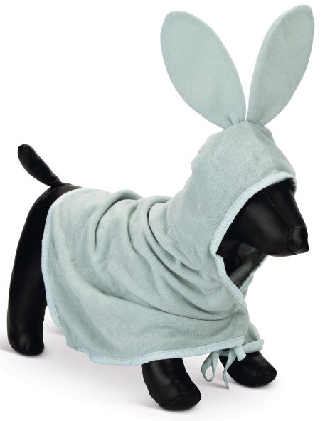 Beeztees Puppy badjas Foompie groen