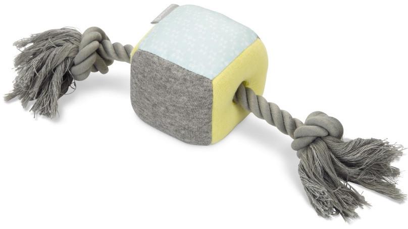Beeztees Puppy kubus Kubi met touw