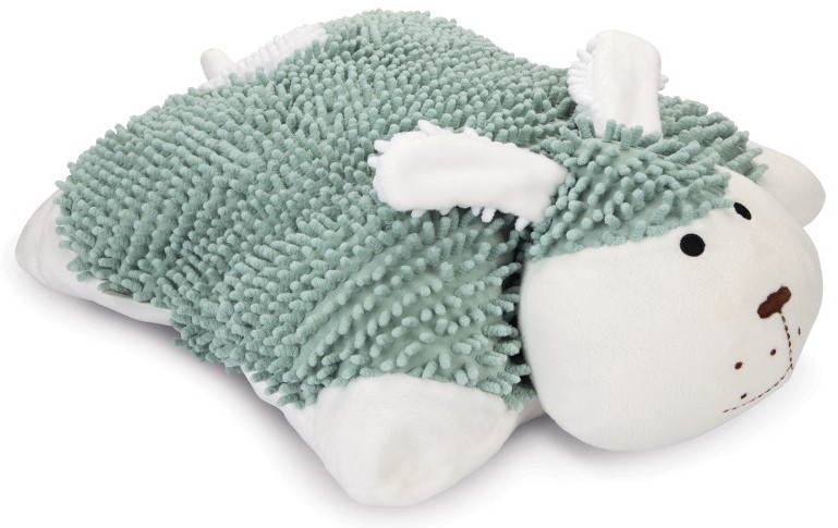Beeztees Puppy knuffelkussen Snuggy groen/wit