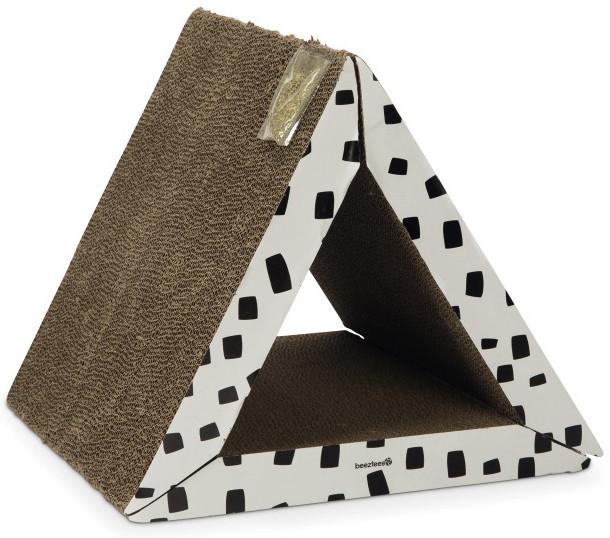 Beeztees kartonnen krabplank Triangle