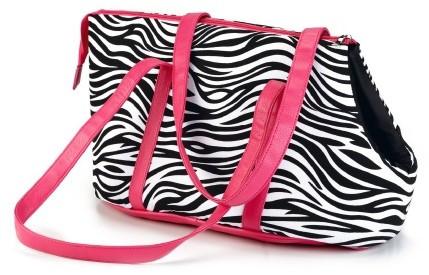 Beeztees draagtas Zebra