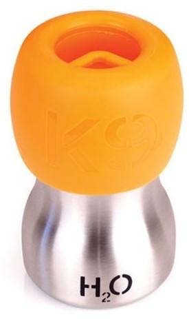 H2O4K9 drinkfles voor honden orange