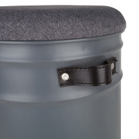District 70 kattenhuis Bucket Mono dark grey thumb