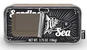 District 70 krabspeelgoed Sardine black