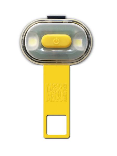 Max & Molly veiligheidslampje Matrix Ultra LED geel
