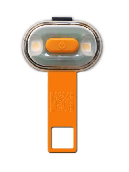 Max & Molly veiligheidslampje Matrix Ultra LED oranje