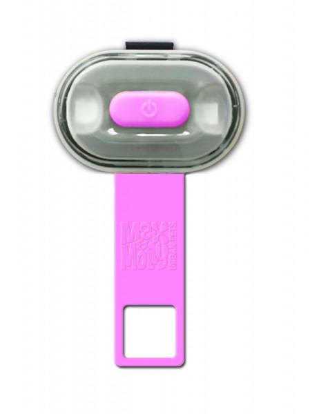 Max & Molly veiligheidslampje Matrix Ultra LED roze