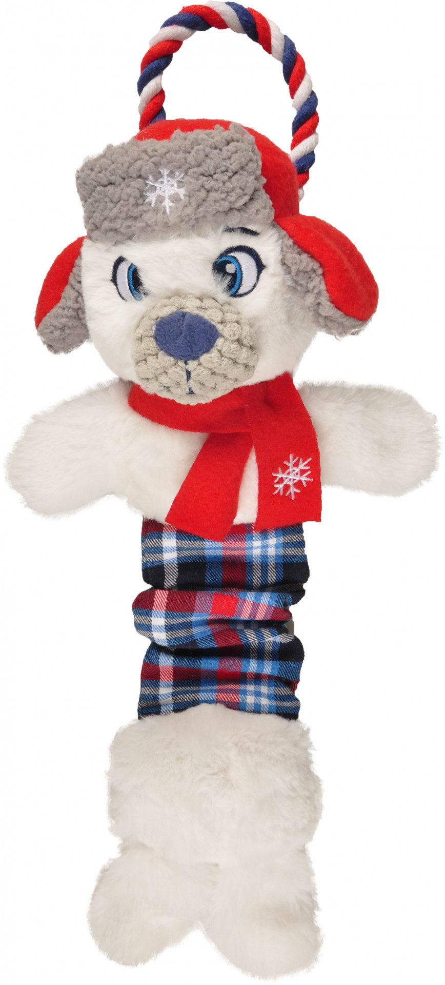 Kerstspeelgoed Ijsbeer bungee