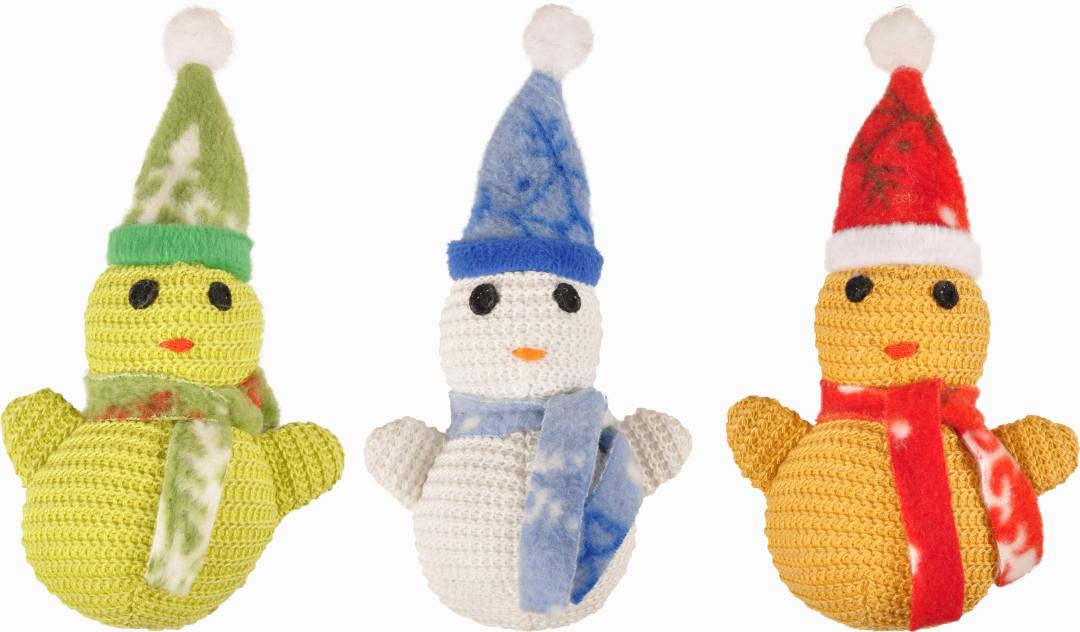Kerstspeelgoed Sneeuwpop assorti