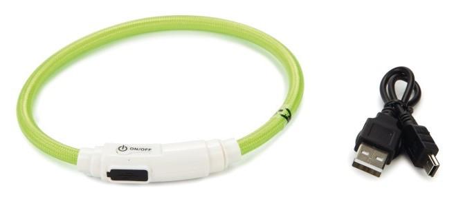 Veiligheidshalsband Flashix groen