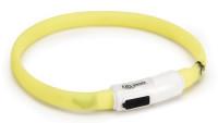 Veiligheidshalsband Catini geel thumb