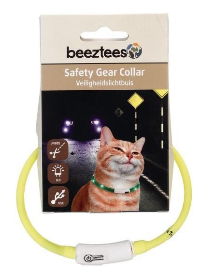 Veiligheidshalsband Catini geel