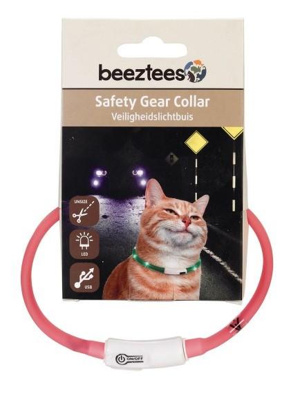 Veiligheidshalsband Catini roze
