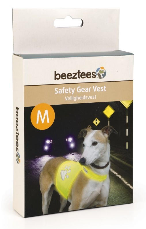 Reflecterende veiligheidsvest geel