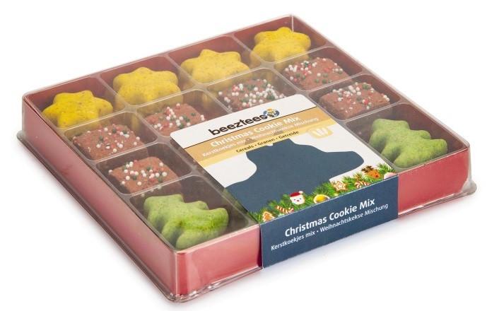 Beeztees Kerstkoekjes mix 32 st