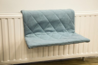 Beeztees radiatorhangmat Jersey blauw thumb