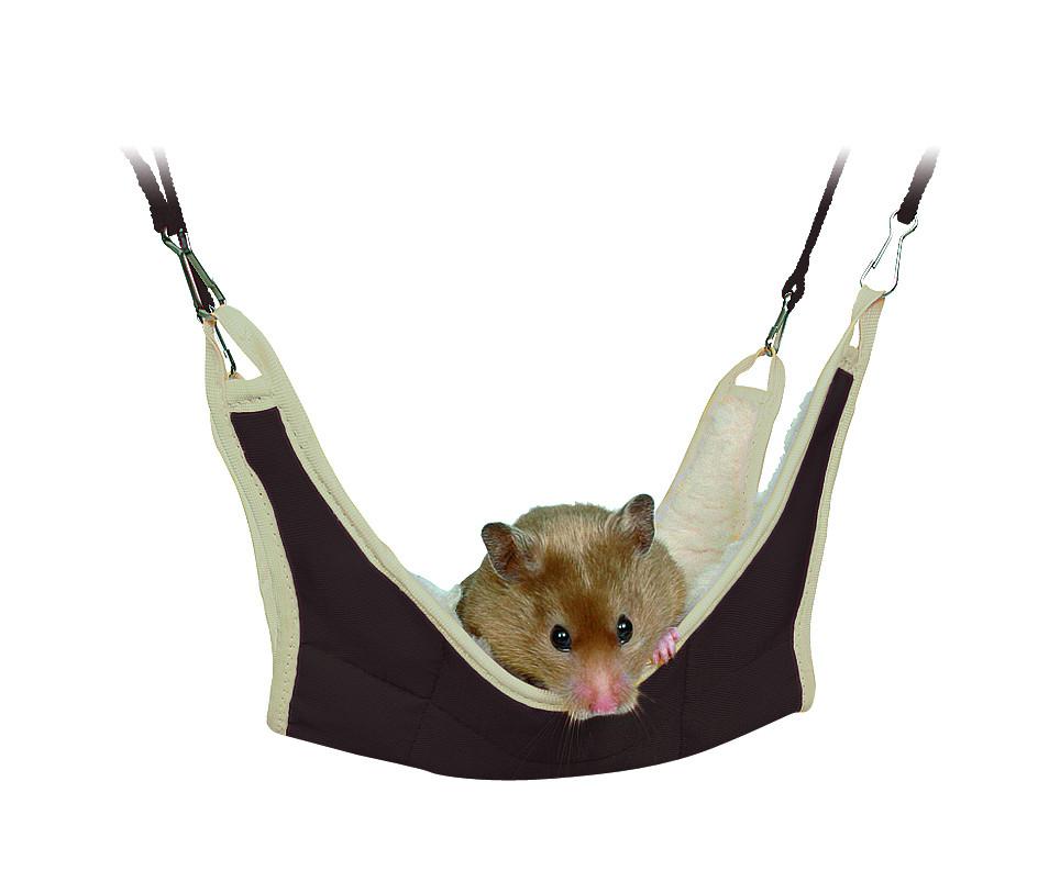 Trixie hangmat muis/hamster groen/grijs