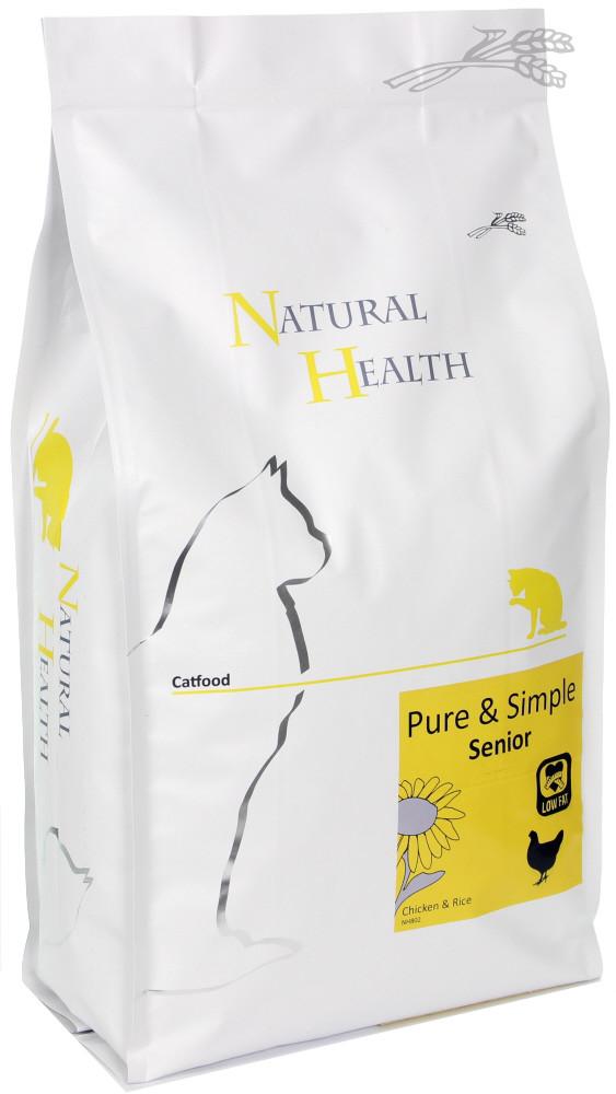 Natural Health kattenvoer Pure & Simple Senior 2 kg