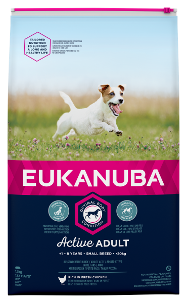 Eukanuba hondenvoer Active Adult Small Breed 12 kg