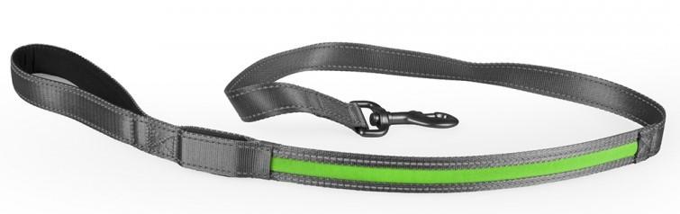 Looplijn Metal flash light USB groen