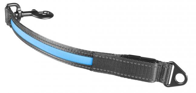 Koppelstuk Metal flash light USB blauw