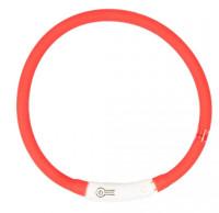 Lichthalsband siliconen rood thumb