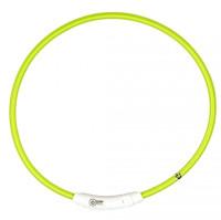 Lichthalsband nylon groen thumb