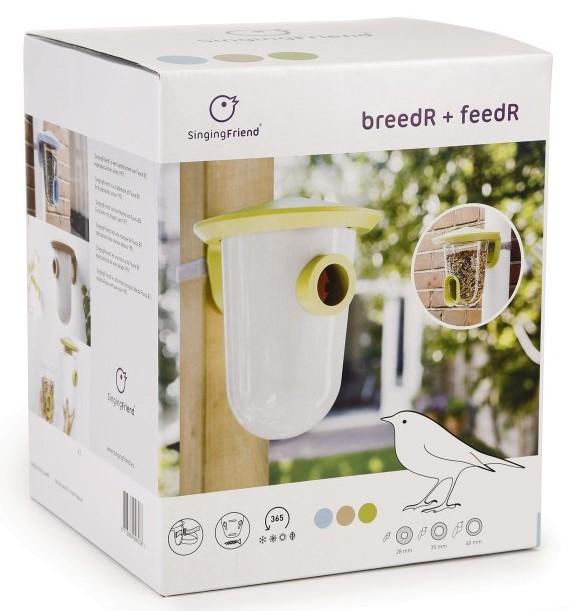 Singing Friend feedR & breedR set bruin