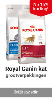 Royal Canin kat voeding grootverpakkingen 15% korting