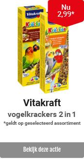 Vitakraft vogelkrackers 2in1 € 2,99
