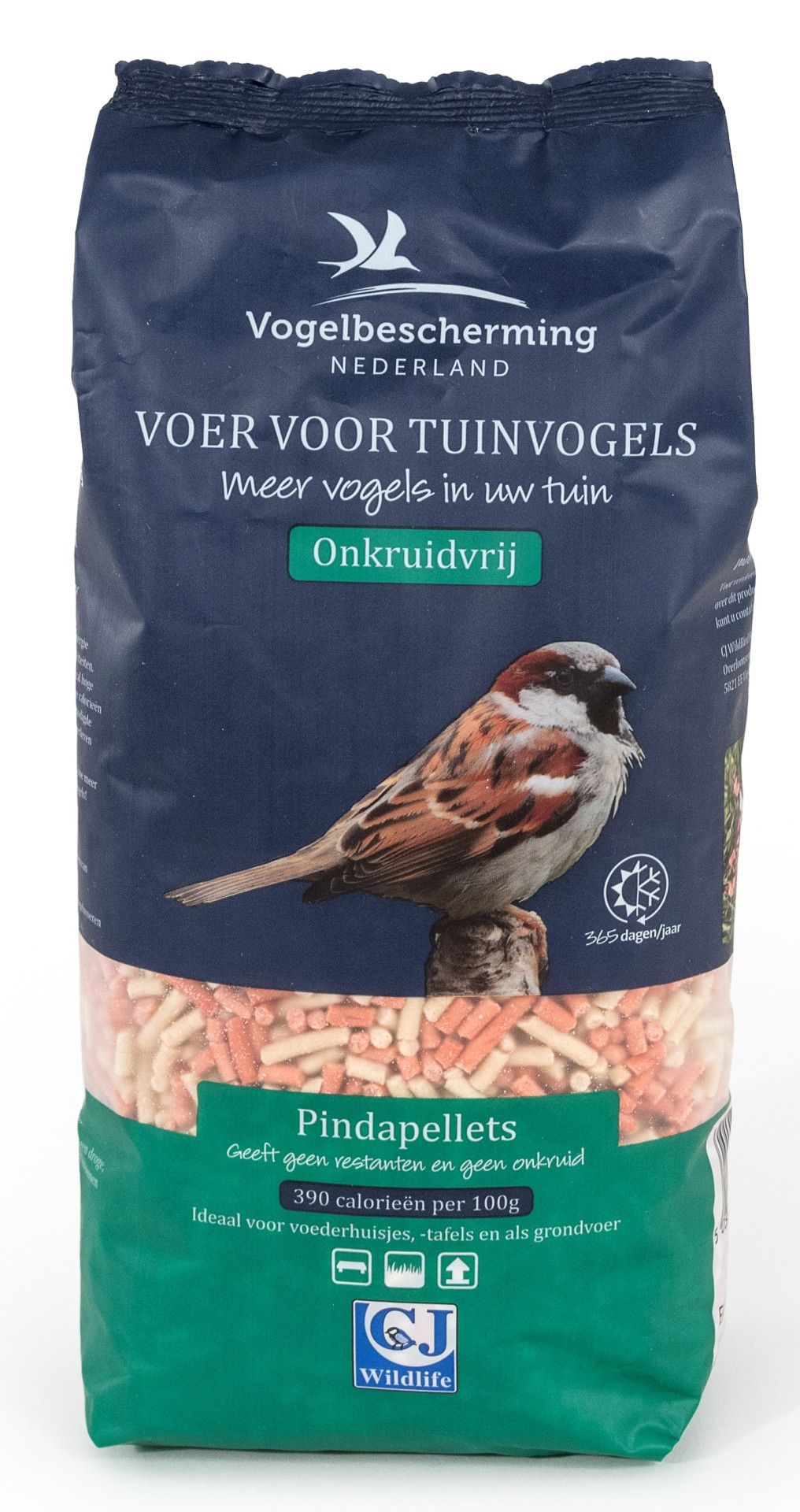 Vogelbescherming Nederland pindapellets 1,75 ltr
