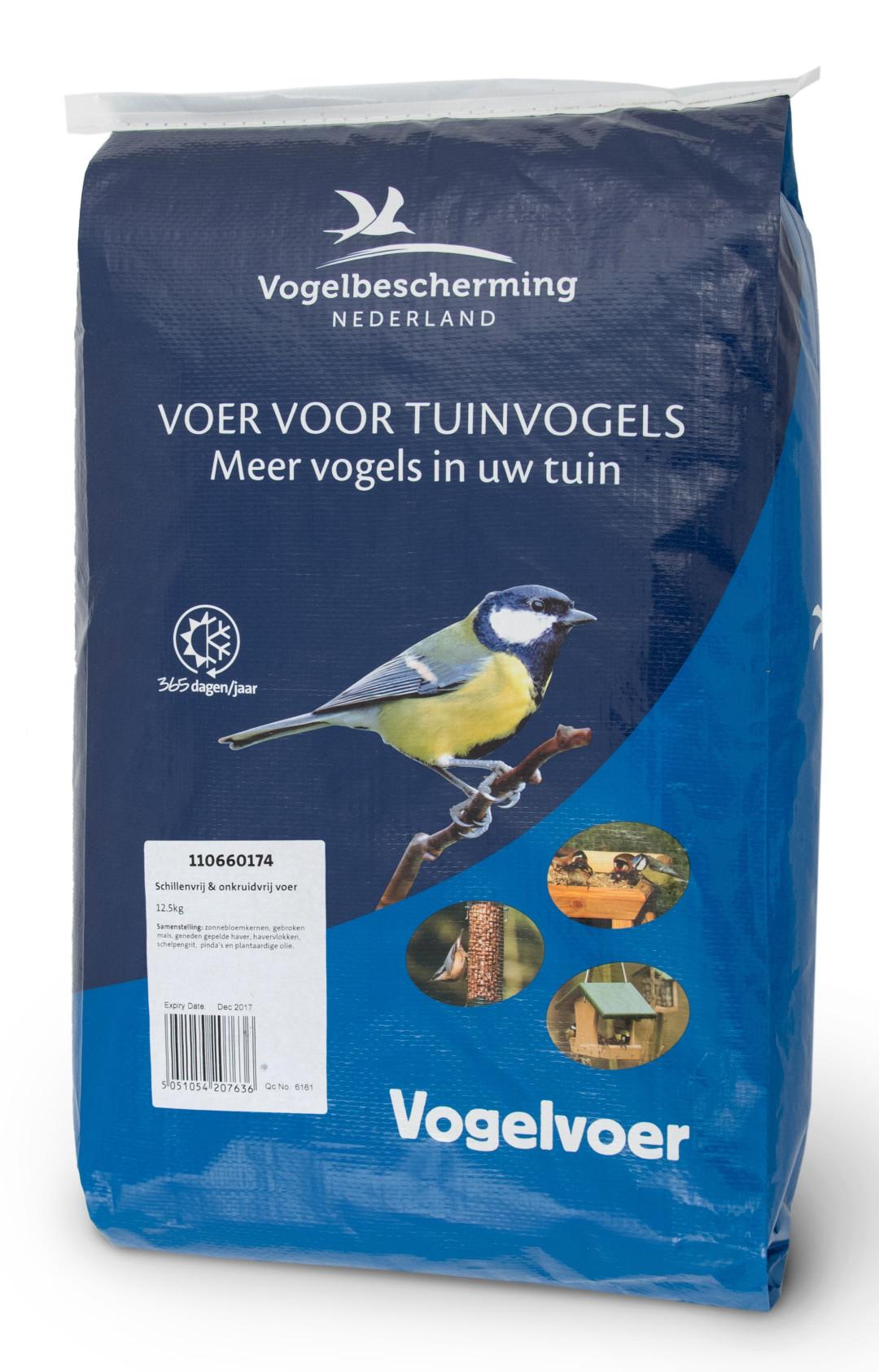 Vogelbescherming Nederland Premium No Mess strooivoer 12,5 kg