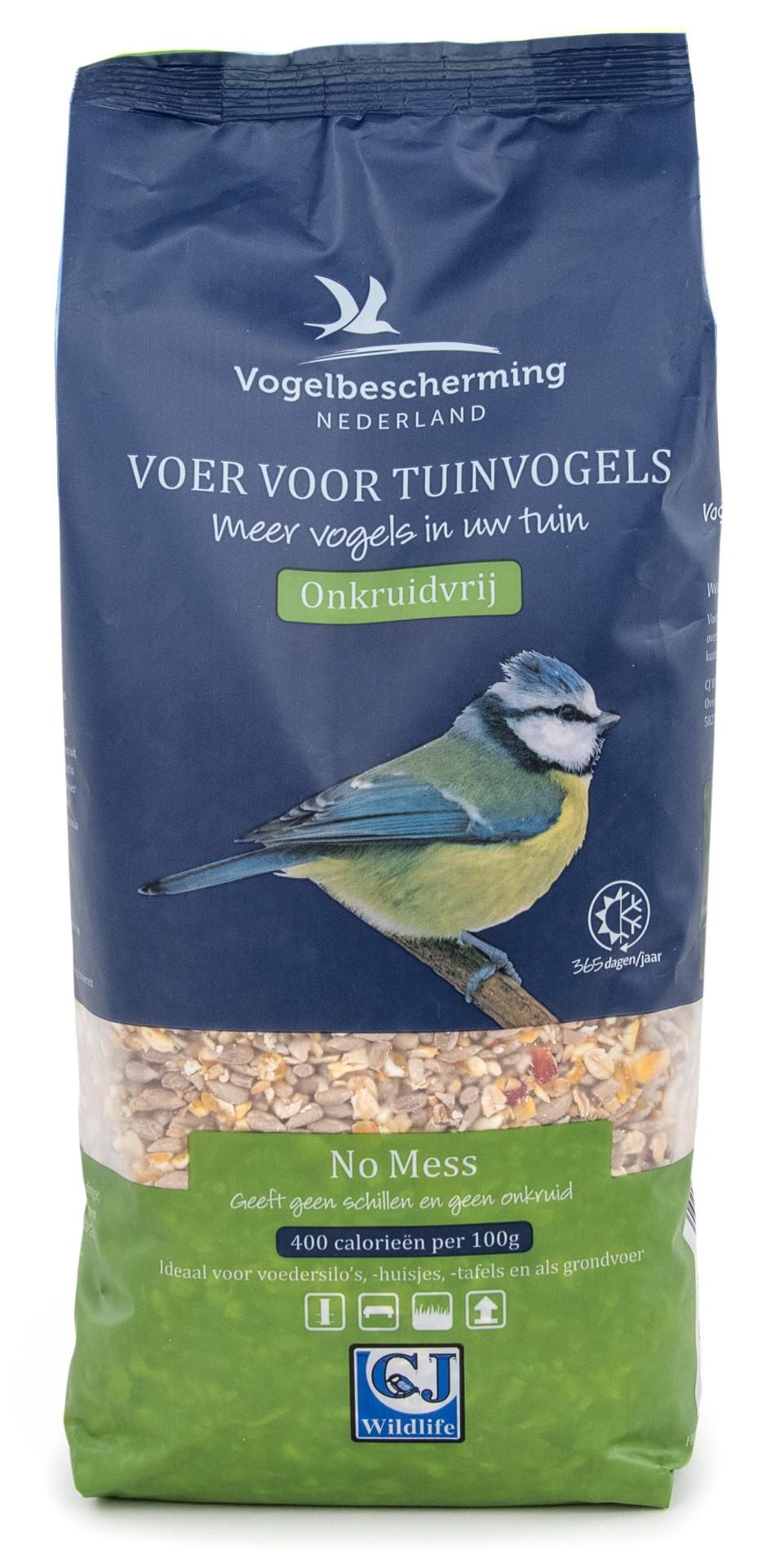 Vogelbescherming Nederland Premium No Mess strooivoer 1,75 ltr