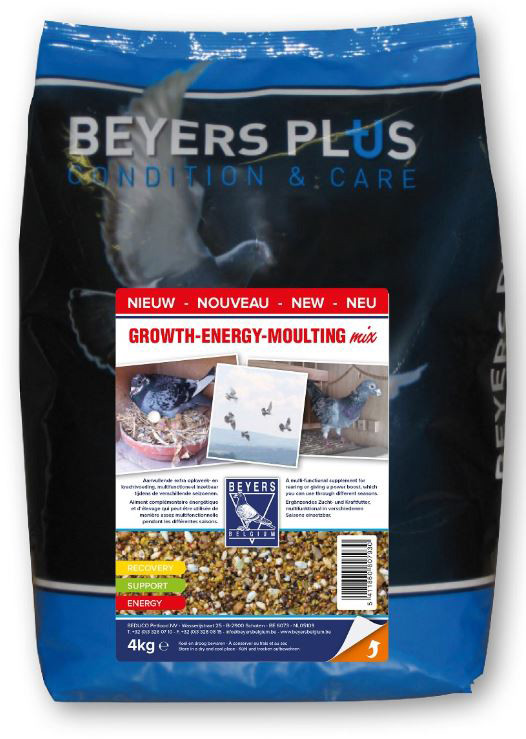 Beyers Growth Energy Moulting mix 4 kg