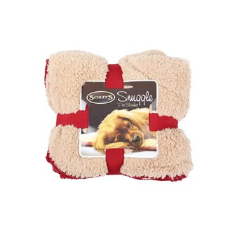Scruffs Snuggle Blanket burgundy