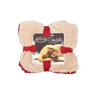 Scruffs Snuggle Blanket burgundy