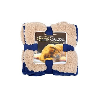 Scruffs Snuggle Blanket blue