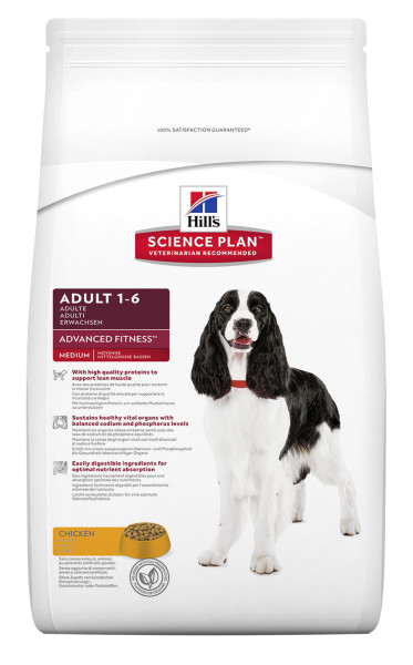 Hill's Science Plan Adult Advanced Fitness Med. chicken 12 kg
