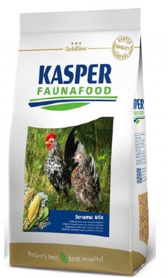 Kasper Faunafood Goldline Serama Mix <br>3 kg