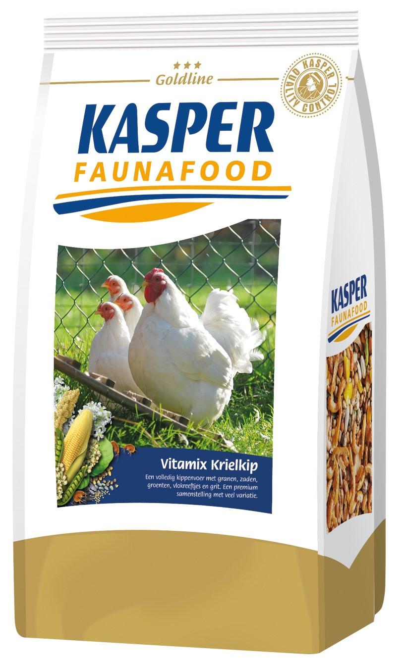 Kasper Faunafood Goldline Vitamix Krielkip 3 kg