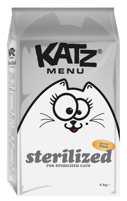 Katz Menu kattenvoer Sterilized 2 kg