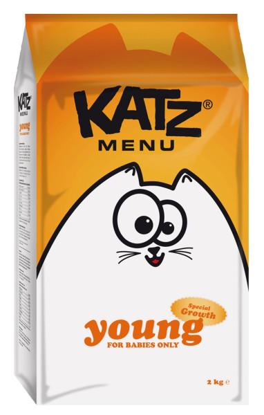 Katz Menu kattenvoer Young 2 kg