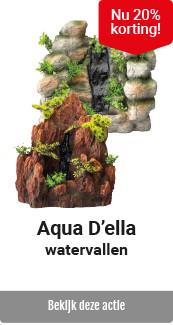 Aqua D'ella waterval 20% korting