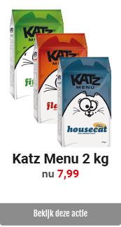 Katz Menu 2 kg voor 7,99
