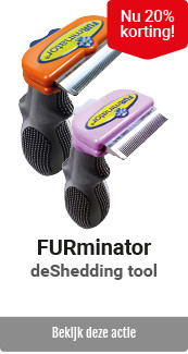 Furminator 20% korting